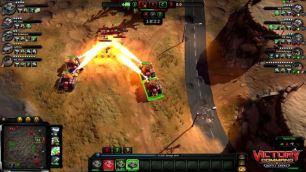 Flame Tank Battle