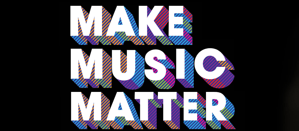 Grammy Music Education Coalition fundraiser graphic