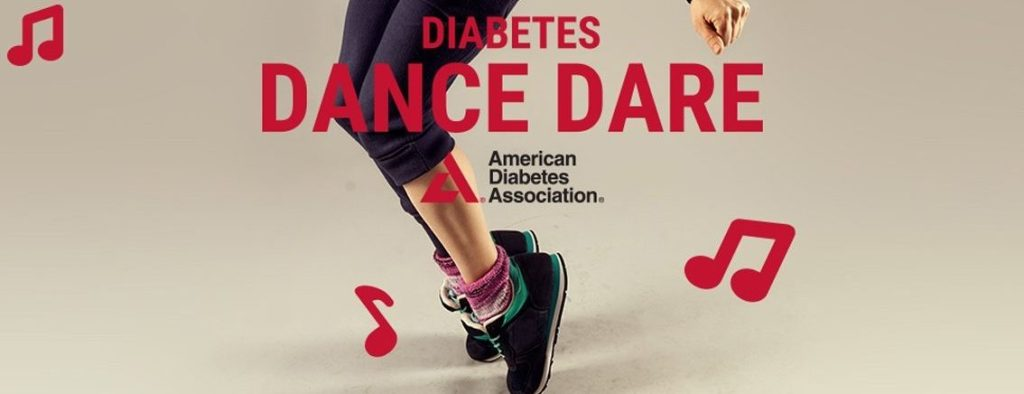 Graphic for the Diabetes Dance Dare