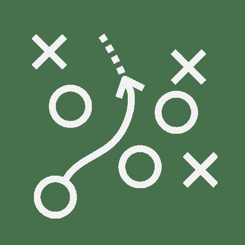 Non-profit marketing campaign strategy capabilities icon