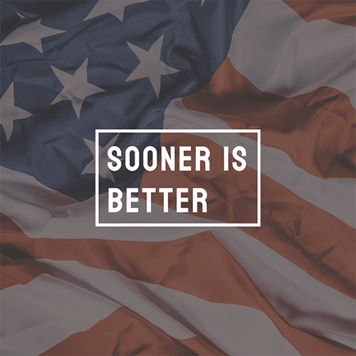 sooner-better