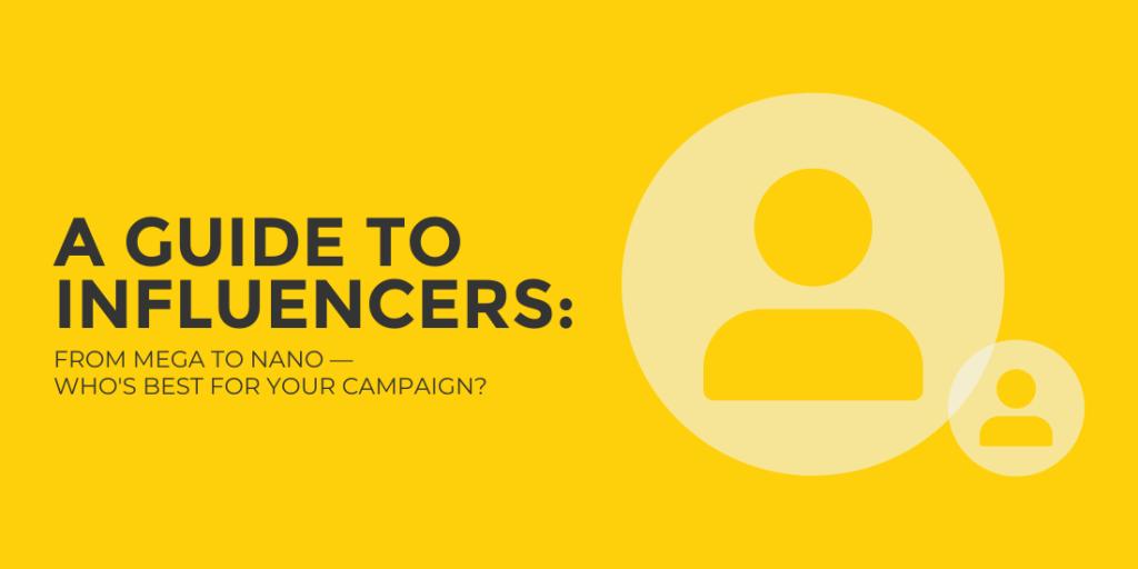 Influencer Type Blog Header