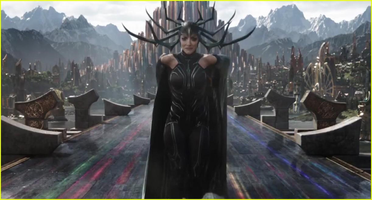 Kneel For Your Queen Cate Blanchett Is Hela In Thor