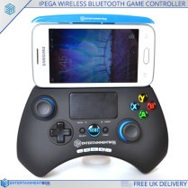 EBox ipega gamepad with phone attached