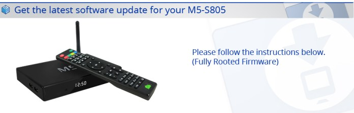 Latest M5 S805 Firmware
