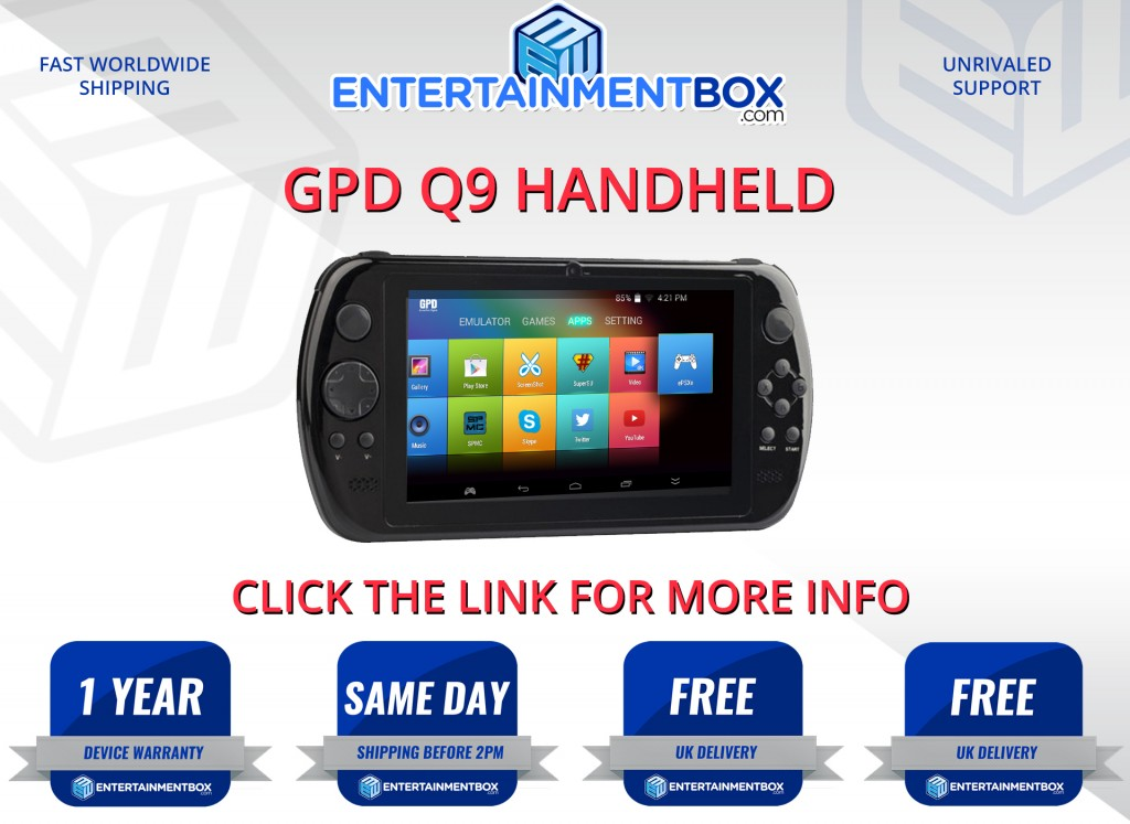 GPD Q9 Gamepad Android