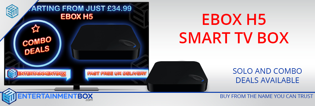 EBox H5 Quad-Core Smart TV Box Low Cost Budget Box packed with features EBox H5 Smart Kodi TV Box