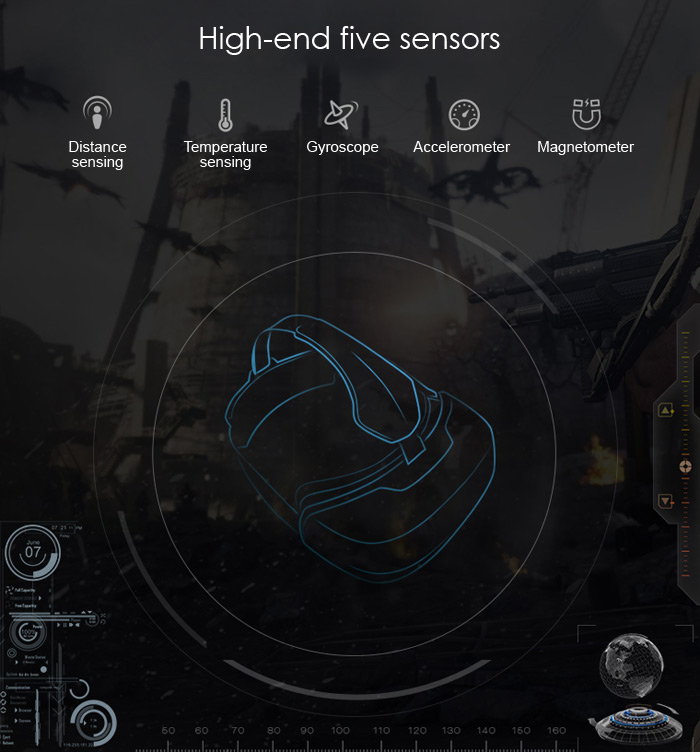 Deepoon M2 Pro has 5 high end sensors