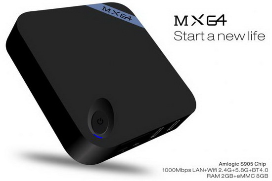 MX64 TV Box Android Lollipop 5.1.1 custom firmware Download