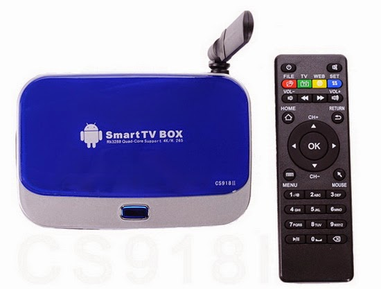 CS918II TV Box Android KitKat 4.4.2 custom firmware Download