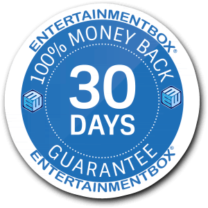 30 DAY GUARANTEE ENTERTAINMENTBOX EBOX