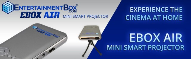 EBOX AIR MINI SMART PROJECTOR ANDROID CINEMA