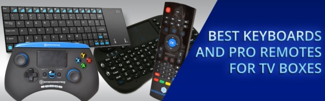 Best Keyboard Pro Remote For TV Boxes