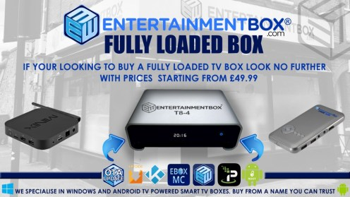 Buy Fully Loaded TV Box UK Latest Kodi/SPMC | Fully Loaded Android powered TV boxes