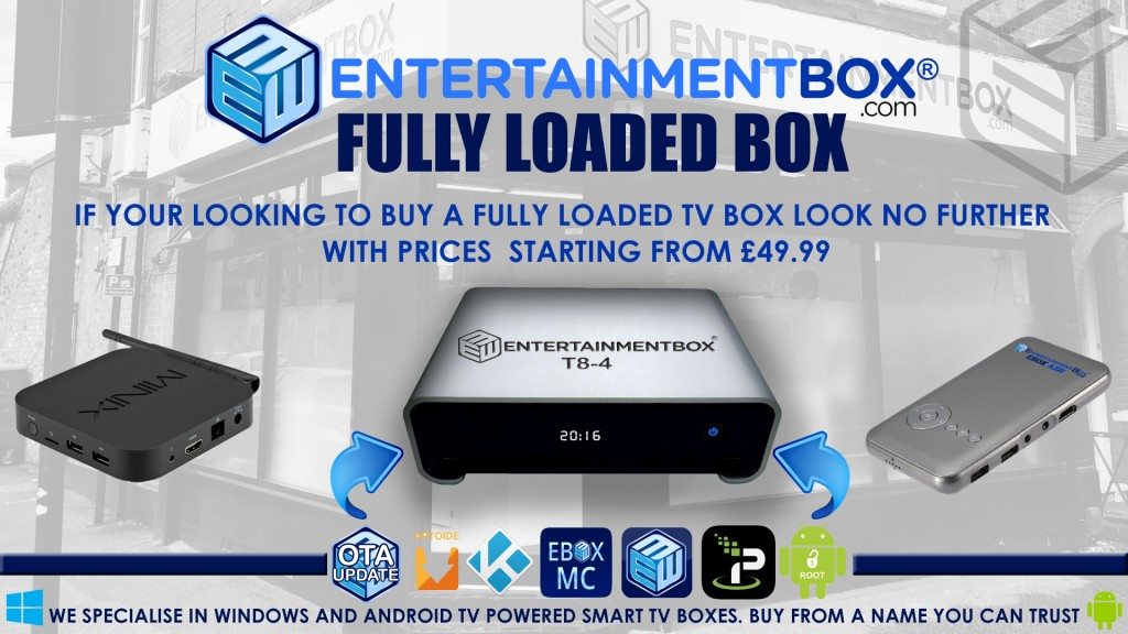 Buy Fully Loaded TV Box Fully Loaded Android TV boxes