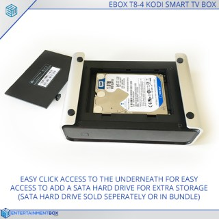 EBox® T8 V4 TV Box With HDD