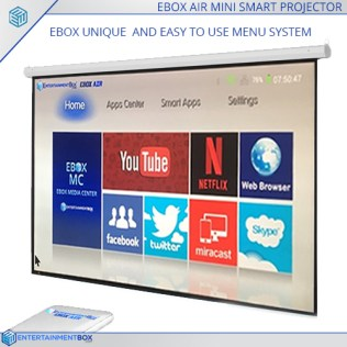 Ebox Air on Screen