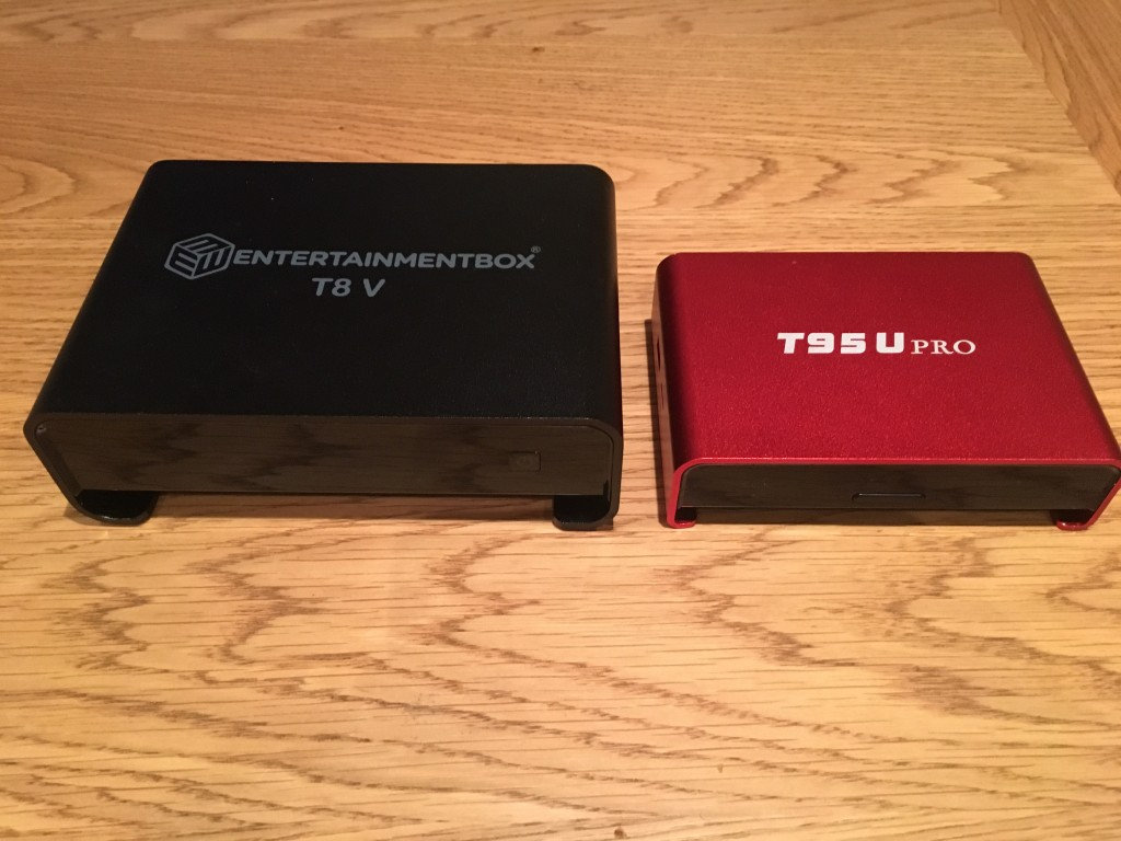 T8 V and T95u pro