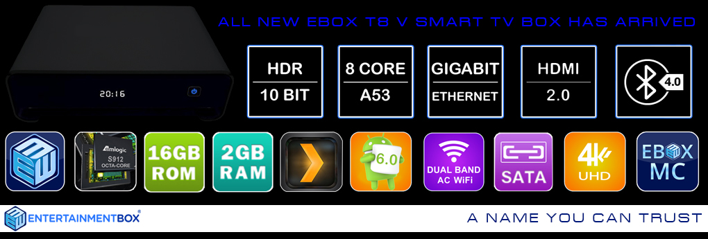 Find out how the Best TV Box was a Perfect Start for the New Year- the EBox T8 V smart TV box Review
