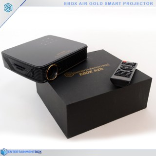 Ebox Air Gold with remote