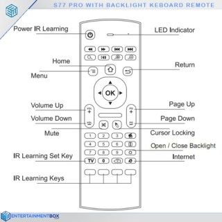 s77 B Air mouse instructions