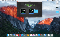 Click on the IPVanish.dmg file, now drag and drop the IPVanish logo into the Applications folder