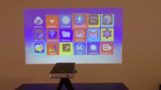 Projector Apps screen