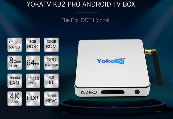 Latest Yoka KB2 Pro TV Box firmware Download Android 6.0