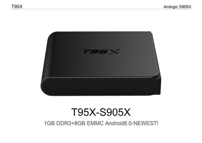 Latest T95X TV Box Firmware Download Android Marshmallow 6.0
