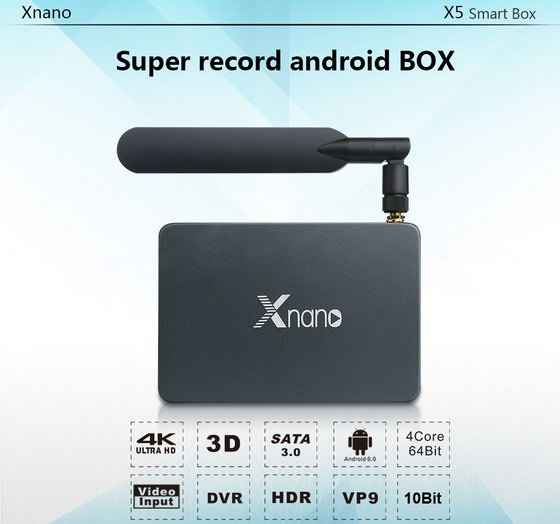 Latest Xnano X5 TV Box Firmware Download Android 6.0
