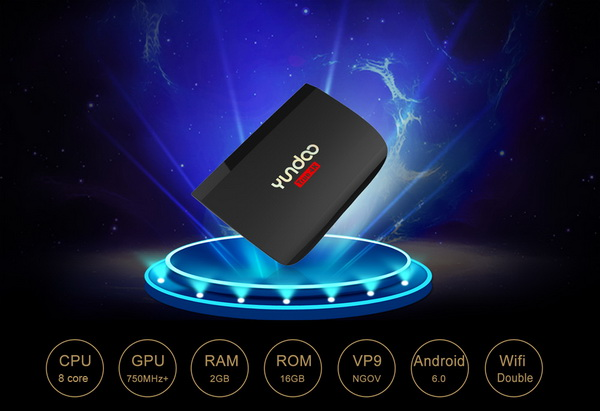 Latest Yundoo Y2 TV Box Firmware Download Android Marshmallow 6.0