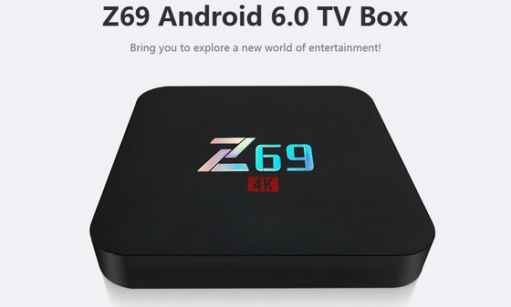 Latest Z69 TV Box Firmware Download 3GB RAM + 32GB Android Nougat 7.1