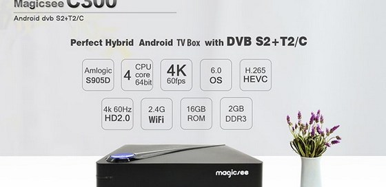 Latest Magicsee C300 TV Box Firmware Download Android Marshmallow 6.0