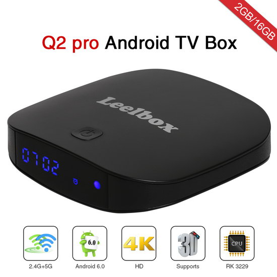 Latest Leelbox Q2 Pro TV Box Firmware Download Android Marshmallow 6.0