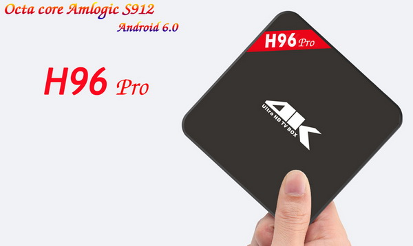 Latest H96 Pro TV Box Firmware Download Android Nougat 7.1