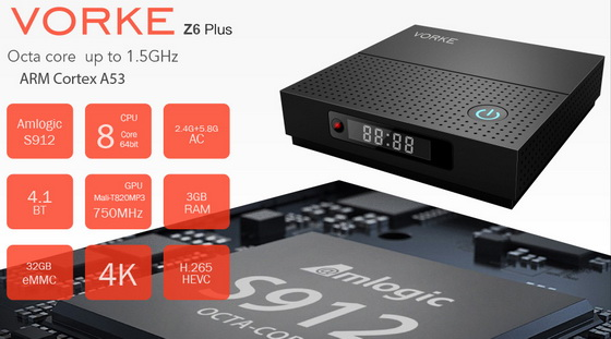 Latest Vorke Z6 Plus TV Box Firmware Download Android 7.1.2