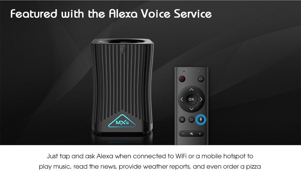MXQ HF10 with voice remote