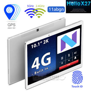 "10.1"" 2K 4G Phablet Teclast Master T20S 4Gb 64GB Tablet PC GPS Touch ID 5G Wifi"