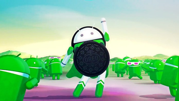 Android Oreo smartphone