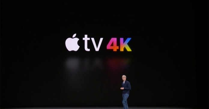 Apple TV - New generation with 4K HDR playback is now official