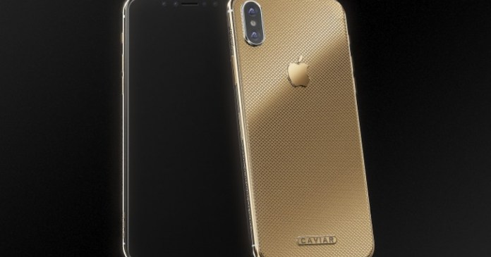 """Apple: You can already have a gold iPhone X for """"only"""" 4500 €"""