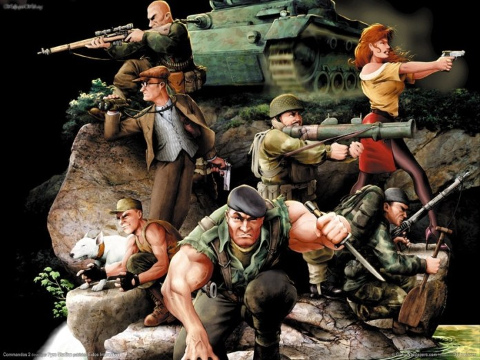 Classic Commandos 2 will have HD remastering for all platforms