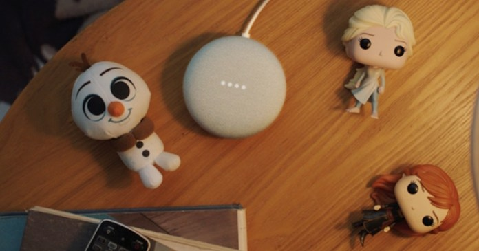 Google Assistant: Characters from Frozen Movie Will Tell Little Kids Stories