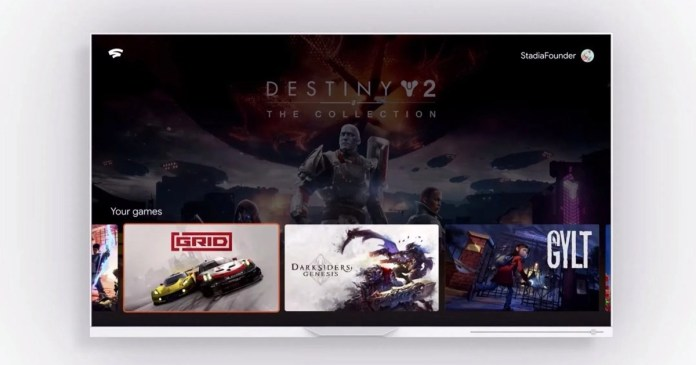 Google Stadia has interface unveiled before official release