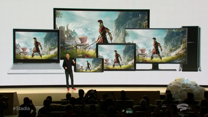 Google Stadia will be compatible with Android TV in 2020