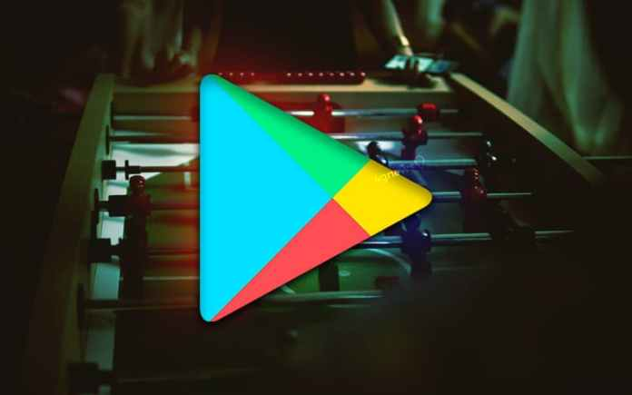 Google Play Store Football Android smartphone