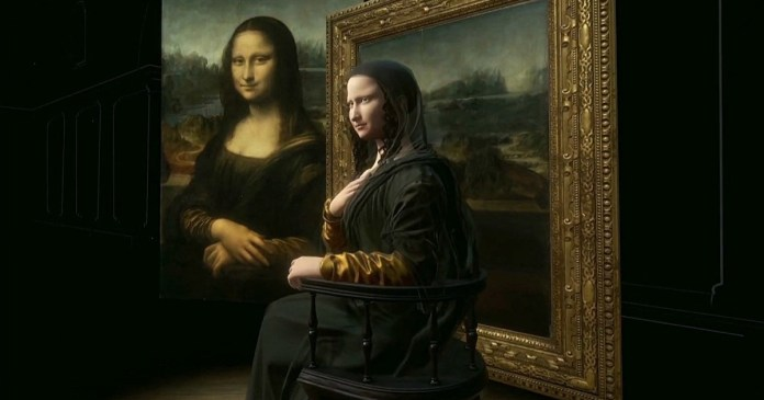 """HTC makes a 3D recreation of the """"Mona Lisa"""" and how beautiful she is!"""