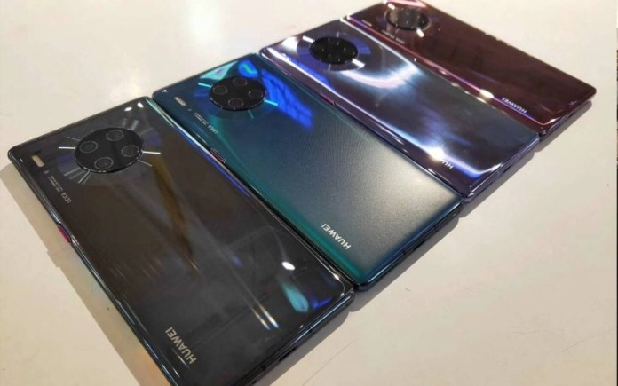 Huawei Mate 30 Pro: Real images confirm colors like you've never seen!