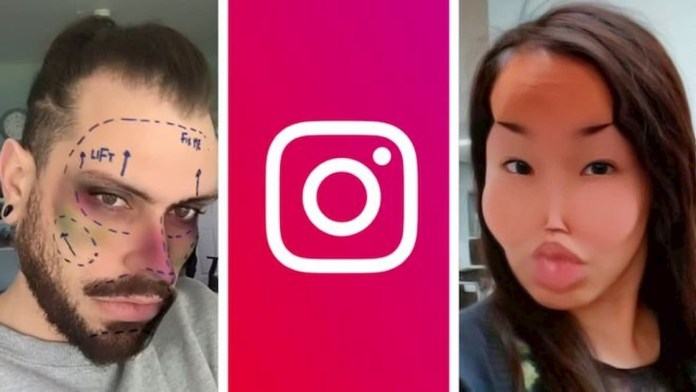 Instagram removes cosmetic surgery cosmetic filters
