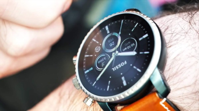 Leak shows us the new Fossil smartwatch with WearOS and promise a lot!